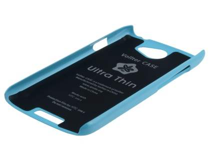 Vollter Ultra Slim Glossy Case for HTC One S - Sky Blue