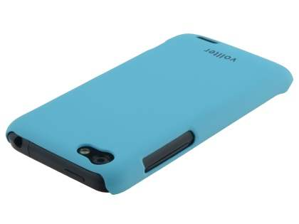 Vollter Ultra Slim Rubberised Case for HTC One V - Sky Blue