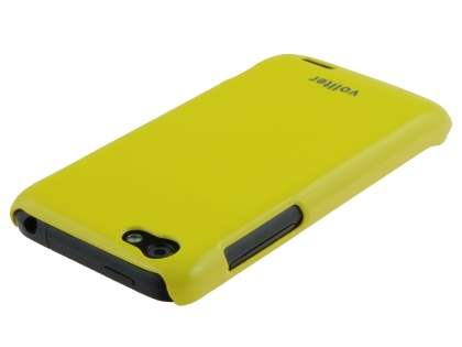 Vollter Ultra Slim Glossy Case for HTC One V - Canary Yellow