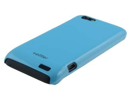 Vollter Ultra Slim Glossy Case for HTC One V - Sky Blue