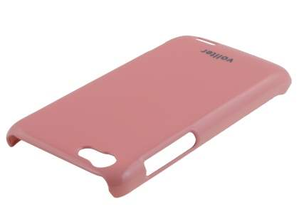 Vollter Ultra Slim Glossy Case plus Screen Protector for HTC One V - Baby Pink
