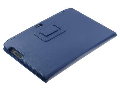 Motorola XOOM 2 10.1 Synthetic Leather Flip Case with Fold-Back Stand - Ocean Blue