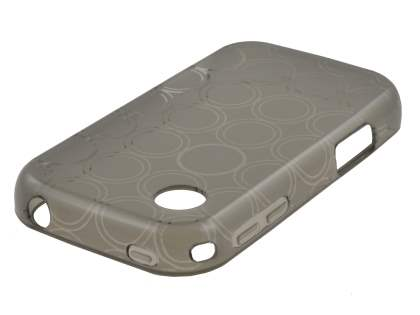 TPU Gel Case for LG Wink 3G T320 - Grey Soft Cover