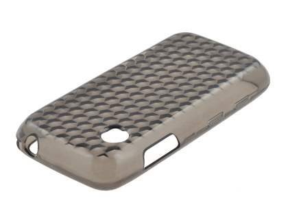 TPU Gel Case for LG GS290 Cookie Fresh - Diamond Grey Soft Cover