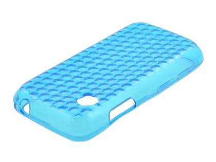 TPU Gel Case for LG GS290 Cookie Fresh - Diamond Sky Blue Soft Cover