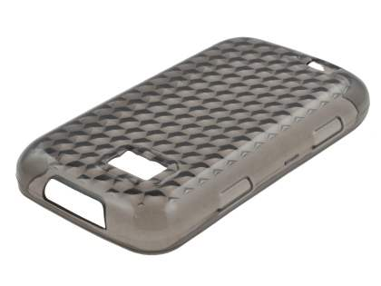 Samsung S5600 Preston TPU Gel Case - Diamond Grey