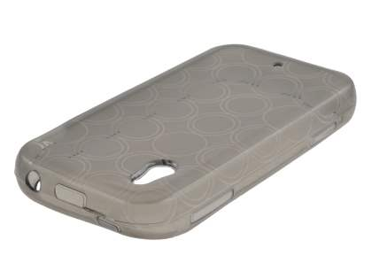 LG KM900 Arena TPU Gel Case - Frosted Grey