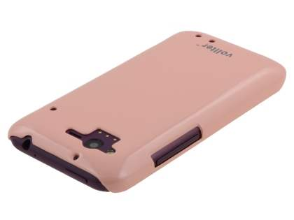 Vollter Ultra Slim Glossy Case for HTC Rhyme - Baby Pink