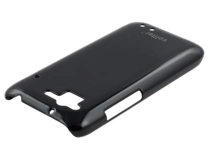 Vollter Ultra Slim Glossy Case plus Screen Protector for HTC Rhyme - Classic Black