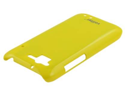 Vollter Ultra Slim Glossy Case plus Screen Protector for HTC Rhyme - Canary Yellow