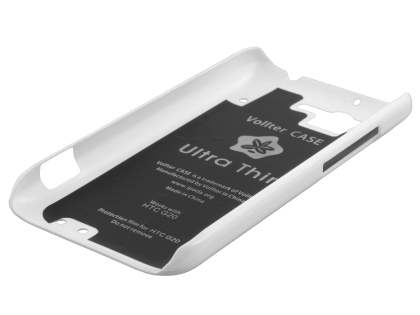 Vollter Ultra Slim Glossy Case for HTC Rhyme - Pearl White