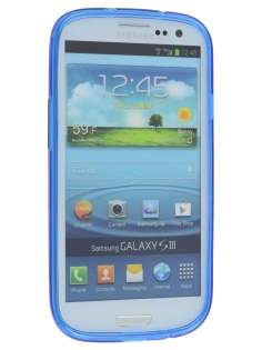 Samsung I9300 Galaxy S3 Frosted TPU Case - Ocean Blue