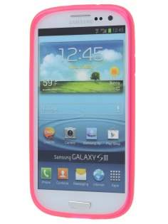 X-Case for Samsung I9300 Galaxy S3 - Frosted Pink/Pink