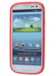 Samsung I9300 Galaxy S3 X-Case - Frosted Red/Red