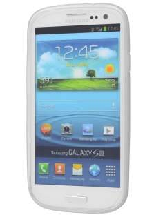 Samsung I9300 Galaxy S3 X-Case - Frosted Clear/Clear