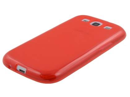 Samsung I9300 Galaxy S3 Frosted TPU Case - Red