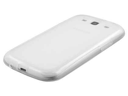 Frosted TPU Case for Samsung I9300 Galaxy S3 - Clear