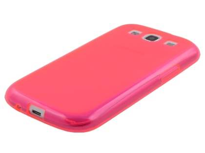Samsung I9300 Galaxy S3 Frosted TPU Case - Pink