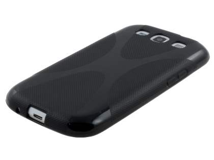 X-Case for Samsung I9300 Galaxy S3 - Frosted Black/Black
