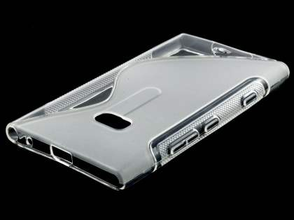 Nokia Lumia 900 Wave Case - Clear/Frosted Clear