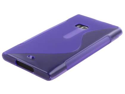Nokia Lumia 900 Wave Case - Frosted Purple/Purple