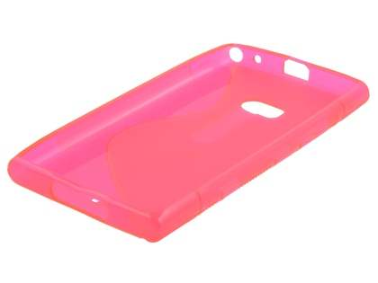 Wave Case for Nokia Lumia 900 - Frosted Pink/Pink