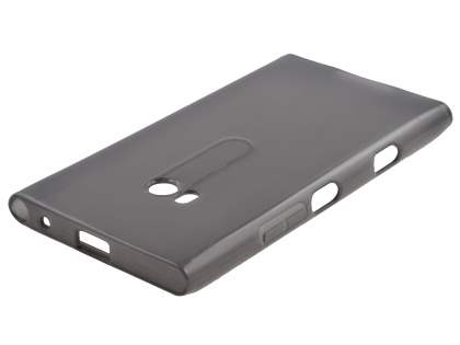 TPU Gel Case for Nokia Lumia 900 - Frosted Grey