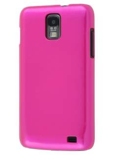 UltraTough Glossy Slim Case for Samsung I9210T Galaxy S II 4G - Hot Pink Hard Case
