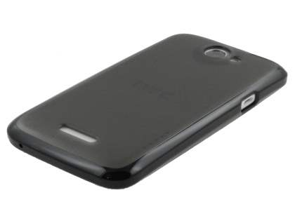 HTC One X / XL / X+ Dual-Design Case - Black/Frosted Grey