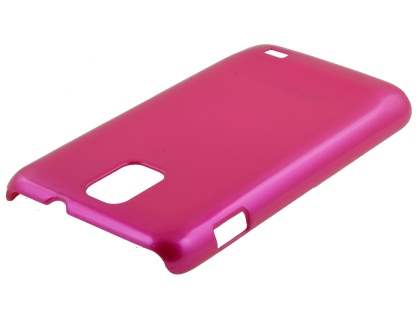 UltraTough Glossy Slim Case for Samsung I9210T Galaxy S II 4G - Hot Pink