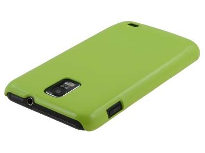 Samsung I9210T Galaxy S II 4G UltraTough Glossy Slim Case - Green