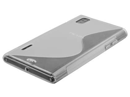 LG Prada 3.0 Wave Case - Frosted Clear/Clear