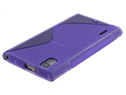 Wave Case for LG Prada 3.0 - Frosted Purple/Purple