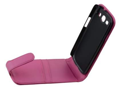 Samsung I9300 Galaxy S3 Synthetic Leather Flip Case - Pink