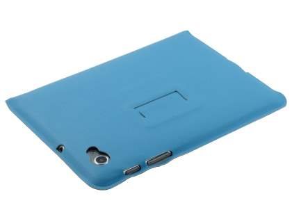 Samsung Galaxy Tab 7.7 P6800 Ultra-slim Synthetic Leather Case - Sky Blue