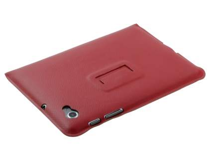 Samsung Galaxy Tab 7.7 P6800 Ultra-slim Synthetic Leather Case - Red