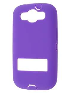 Samsung I9300 Galaxy S3 Defender Case with Stand - Purple/Black