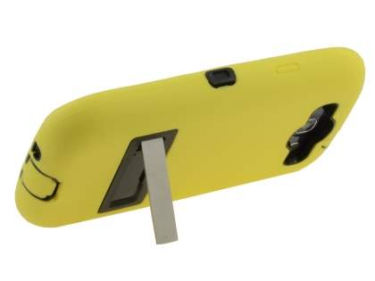 Samsung I9300 Galaxy S3 Defender Case with Stand - Canary Yellow/Black