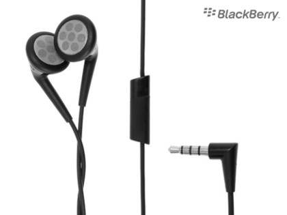 Genuine BlackBerry HDW-24529-001 3.5mm Stereo Headset - Hands-free Kits