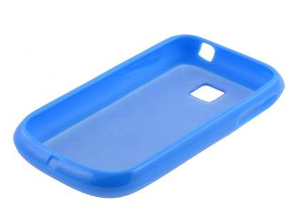 LG P690 Optimus Spirit Dual-Design Case - Blue/Frosted Blue