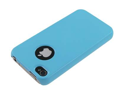 Slim Glossy Case for iPhone 4 Only - Sky Blue