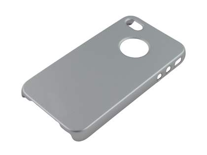 Slim Glossy Case for iPhone 4 Only - Silver