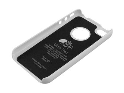 Slim Glossy Case for iPhone 4 Only - White