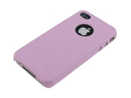 Slim Glossy Case plus Screen Protector for iPhone 4 Only - Baby Pink