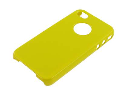 Slim Glossy Case for iPhone 4 Only - Yellow