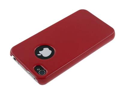 Slim Glossy Case for iPhone 4 Only - Red