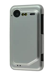 Slim Glossy Case for HTC Incredible S - Silver