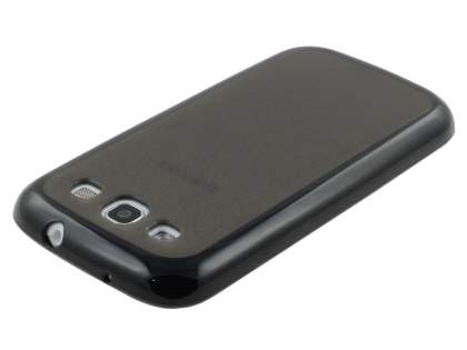 Samsung I9300 Galaxy S3 Dual-Design Case - Black/Grey