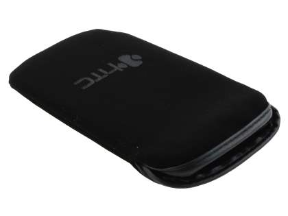 Stylish Protective Textile Sleeve for HTC Aria - Classic Black