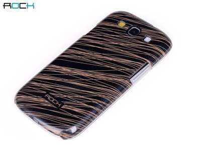 ROCK Luxurious Glossy Colour Case for Samsung I9300 Galaxy S3 - Black